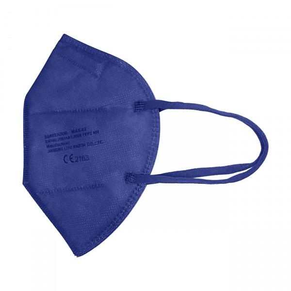 FFP2 Maske (Box 20 Stk) - Große M (Jugendlich) Farbe: Marineblau