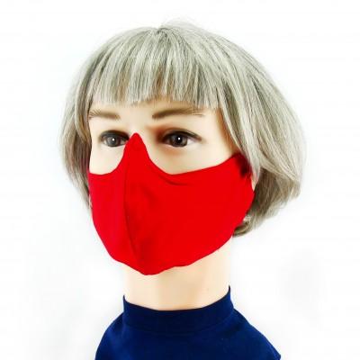 Gesichtsmaske - Rot
