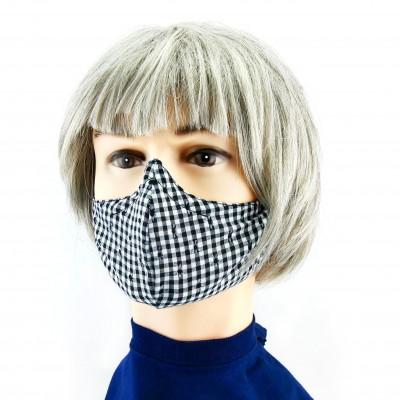Gesichtsmaske - Oktoberfest schwarzweiss