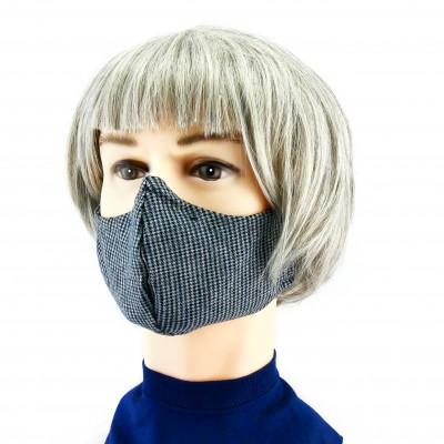 Gesichtsmaske - Grau peppita