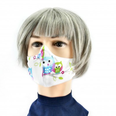 Gesichtsmaske - Eulen