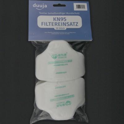 Einsatzfilters KN95 (set mit 20 Filtern)